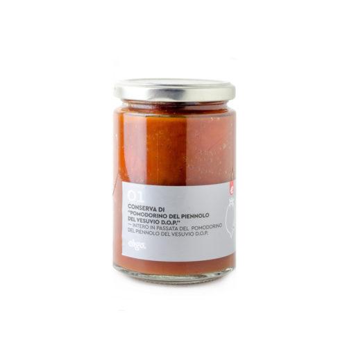 Pomodorino del Piennolo Intero in Salsa